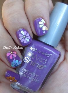 Cha Cha Cakes Nails: Day 6 of the 31 Day Nail Art Challenge