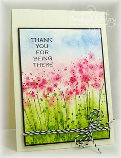 Bridget's Paper Blessings: Watercolor Meadow