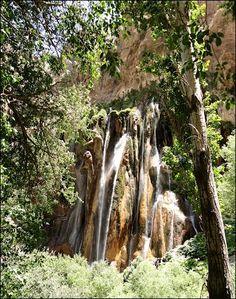 Margoon waterfall آبشار مارگون
