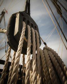 Nautical sailboat sailing sails rope coastal by photographybyVena