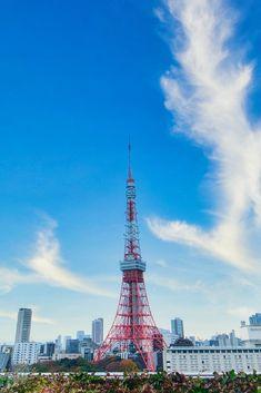 Tower Light, Tower Stand, Secret Location, Tokyo Tower, Light Trails, Pedestrian Bridge, Famous Landmarks, Big Windows, Street Lamp