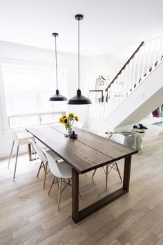 Dreamy white dining areas. Shop this look at SmartFurniture.com