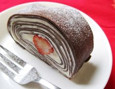 Cocoa+Crepe+Roll+Cake+with+Whole+Strawberries