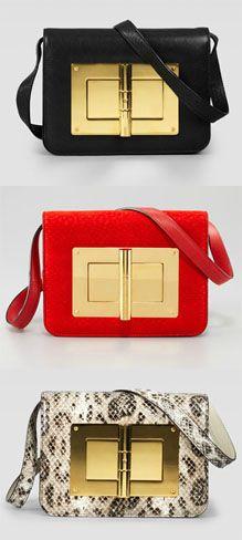 Natalia Turnlock Bag de Tom Ford