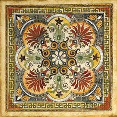 Italian Tile I poster by Ruth Franks