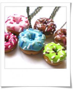 Donuts multicolores de Cottoncandies