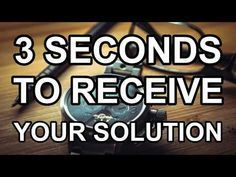 Abraham Hicks - 3 Seconds To Receive Your Solution - YouTube