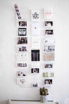 Postkartenhalter für