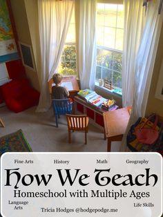 How We Teach...Homeschool