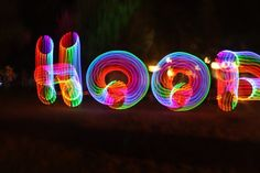 led hooping - Google Search