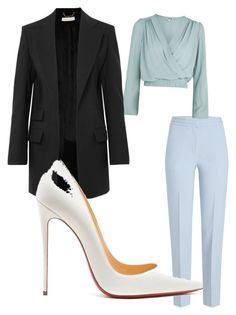 """""""Untitled #25"""" by ccrc on Polyvore featuring Victoria, Victoria Beckham, Love, Chloé and Christian Louboutin"""