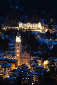 Cortina d'Ampezzo - Dolomites, province of Belluno, Veneto, Northern Italy Ski Vacation, Italy Vacation, Dream Vacations, Vacation Places, Places To See, Places To Travel, Travel Destinations, Ski Italy, Best Christmas Vacations