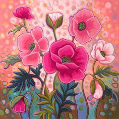 Flower Line Drawings, Cold Porcelain Flowers, Coral Garden, Watercolor Painting Techniques, Wooden Flowers, Garden Painting, Stencil Art, Chalkboard Art, Pics Art