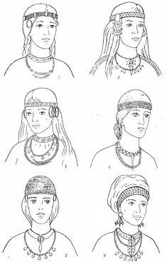 Slavic costumes - Belarus