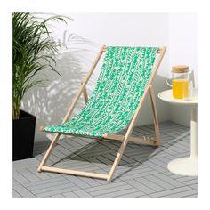 MYSINGSÖ Silla de playa - verde - IKEA