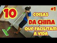 """10 COISAS DA """"CHINA"""" QUE VÃO TE AJUDAR NA LIMPEZA E ORGANIZAÇÃO DO LAR - Banggood - YouTube"""