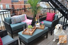 small balcony decorating ideas pinterest - Google Search