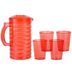 Caraffa con 4 Tazze di Plastica Bravissima Kitchen 4,05 € https://shoppaclic.com/bicchieri-e-brocche/1041-caraffa-con-4-tazze-di-plastica-7569000748921.html
