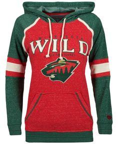 Old Time Hockey Women's Minnesota Wild Vernier Hoodie