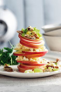 Apple and feta salad