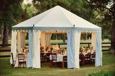 Real Backyard Wedding Wedding Real Weddings Photos on WeddingWire #smallWeddings