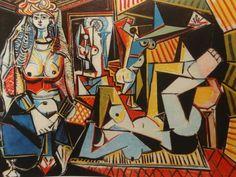 Pablo Picasso (after) - Las mujeres de Argel (Dunway Enterprises) http://amzn.to/2afoOjz