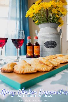 New Mom in a New Era: Date Night In Idea: Easy Spicy Chicken Empanadas