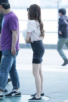 SNSD Jessica Jung fashion Airport