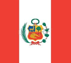 drapeau national du p rou p rou pays du monde fond d cran Banque d'images