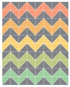 How to do chevron print