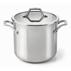 Calphalon AcCuCore 8 Qt. Stock Pot with Cover - http://cookware.everythingreviews.net/5256/calphalon-accucore-8-qt-stock-pot-with-cover.html