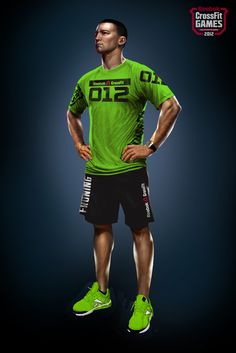 5e2c859a4 Full System Charged (Compression) - M - Front · Crossfit GearCrossfit  ClothesReebok CrossfitCrossfit GamesWorkout ...