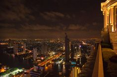 Bangkok State Tower Sirrocco Restaurant  - by Heiner Henninges