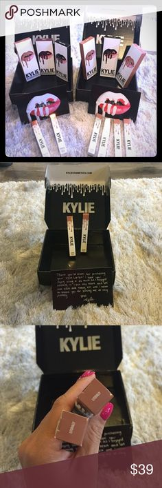 Literally Kylie lip gloss. NEW. Authentic. Literally Kylie lip gloss. NEW. Authentic. Never opened or swatched. One per order Please see last photo for color.🅿️🅿️does not come with box or card. One per order Kylie Cosmetics Accessories