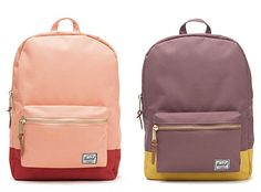 Cool color combo - Herschel Supply Co & Madewell