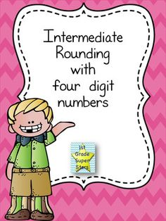 """Included are 5 unique worksheets (with teacher answer key) to challenge students with rounding to the nearest ten, hundred, or thousands. Worksheets are """"draw a line"""" style to mimic computer based """"drag and drop"""". Math Skills, Math Lessons, First Grade, Second Grade, Build Math, Rounding, Math Resources, Teaching Math, Teacher Pay Teachers"""