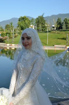 My dream wedding Hijab wedding dress lovely ceremony