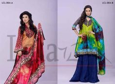 spring summer classic lawn 2014 by lala textile (5)