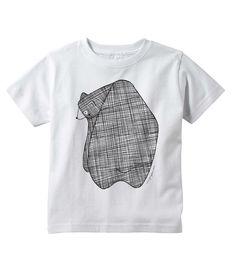 Bear Kids Shirt by Gingiber