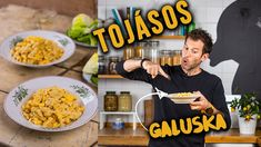 A perfekt TOJÁSOS GALUSKA fejes salátával Okra, Pasta Recipes, Macaroni And Cheese, Cereal, Breakfast, Ethnic Recipes, Food, Youtube, Mac And Cheese