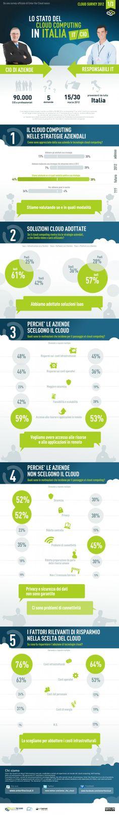 Enter the Cloud | Cloud survey 2012 - La visione di CIO e professionisti IT a confronto