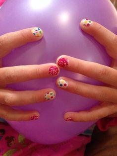 Colorful polka & pink primrose -Jamberry Juniors