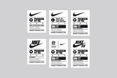 Hype Type Studio / Nike / Nike Global Label System / Label /...