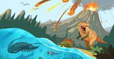 La extinción más grande de la historia hizo desaparecer más del 90% de las especies