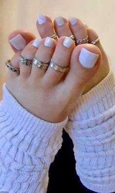 Pretty Toe Nails, Cute Toe Nails, Pretty Toes, Toe Nail Art, Ballerina Feet, Nice Toes, Painted Toes, Beautiful Toes, Feet Nails