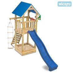 Spielgerät Wickey Harry`s Magic Tower mit Planendach, Rutsche und MultiBeam