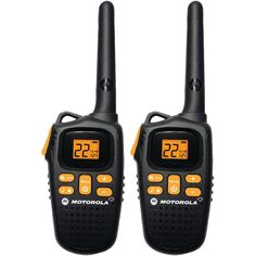 MOTOROLA MD207R 20-Mile, 2-Way Radio with NOAA Weather