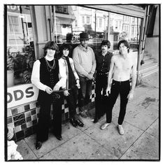 Steve Miller Band, with Boz Scaggs, photo by Herb Greene (1967) AcidAge of SF Rock