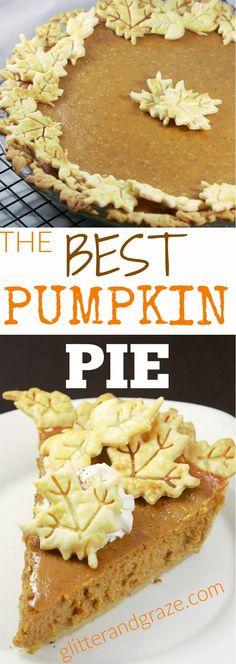This pumpkin pie rec
