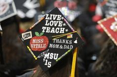 cap decorating ideas for high school graduation - Google Search